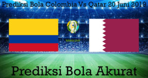 Prediksi Bola Colombia Vs Qatar 20 Juni 2019