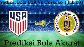 Prediksi Bola USA Vs Curacao 1 Juli 2019
