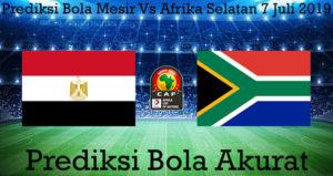 Prediksi Bola Mesir Vs Afrika Selatan 7 Juli 2019