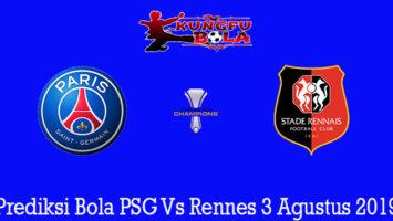 Prediksi Bola PSG Vs Rennes 3 Agustus 2019