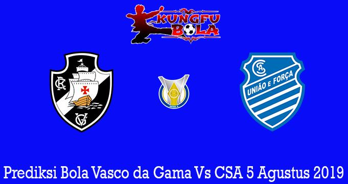 Prediksi Bola Vasco da Gama Vs CSA 5 Agustus 2019