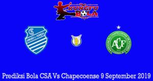 Prediksi Bola CSA Vs Chapecoense 9 September 2019
