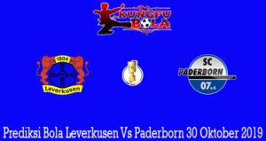 Prediksi Bola Leverkusen Vs Paderborn 30 Oktober 2019