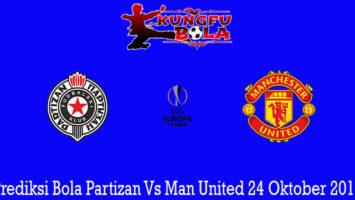 Prediksi Bola Partizan Vs Man United 24 Oktober 2019