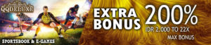 EXTRA BONUS 200%