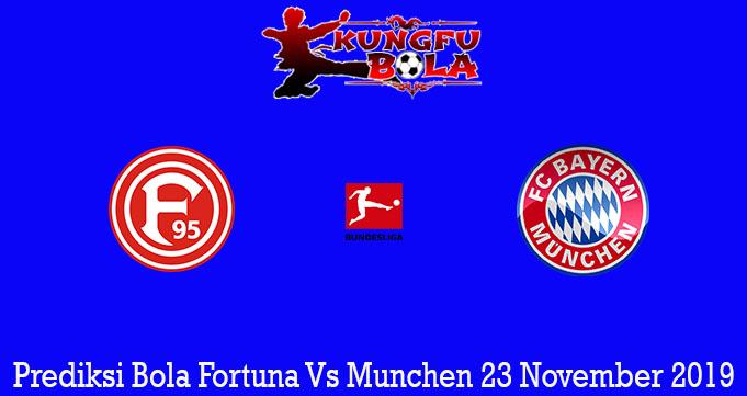 Prediksi Bola Fortuna Vs Munchen 23 November 2019