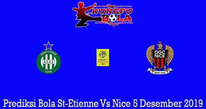 Prediksi Bola St-Etienne Vs Nice 5 Desember 2019