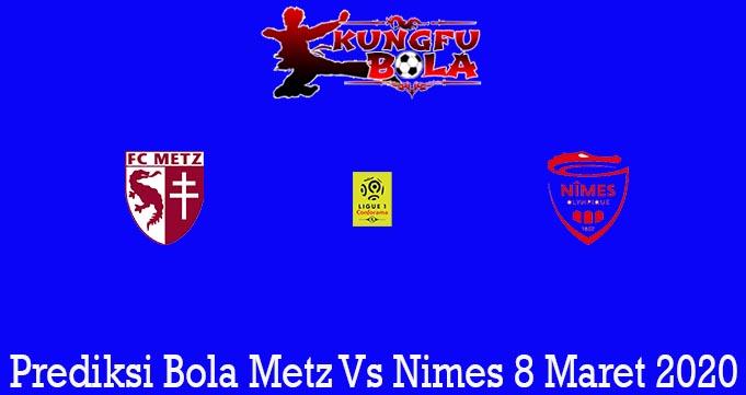 Prediksi Bola Metz Vs Nimes 8 Maret 2020