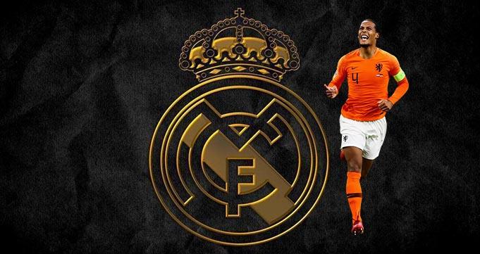 Real Madrid Ingin Virgil van Dijk Gantikan Sergio Ramos