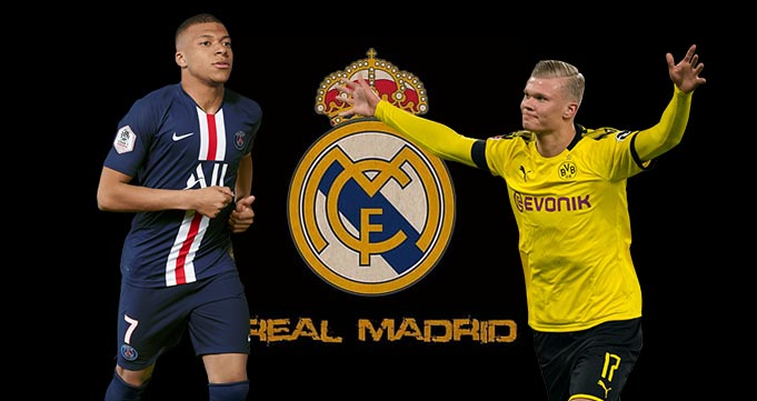 Haaland dan Mbappe Duet Masa Depan Real Madrid