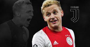 Juventus Incar Gelandang Ajax Donny van de Beek