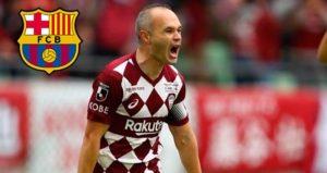Rumor Kembali Nya Andres Iniesta Ke Barcelona