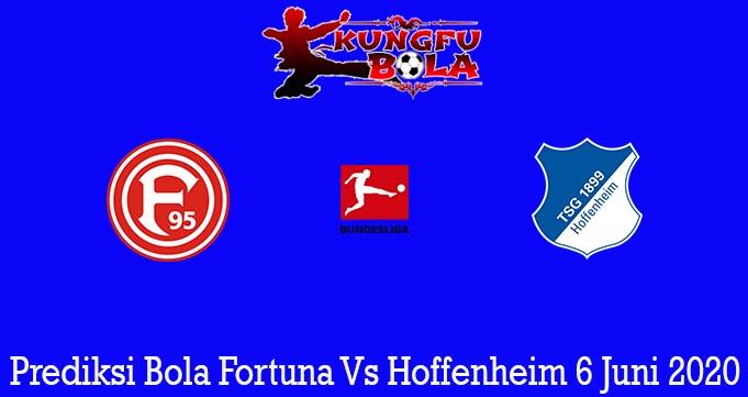 Prediksi Bola Fortuna Vs Hoffenheim 6 Juni 2020