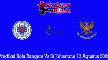 Prediksi Bola Rangers Vs St Johnstone 13 Agustus 2020