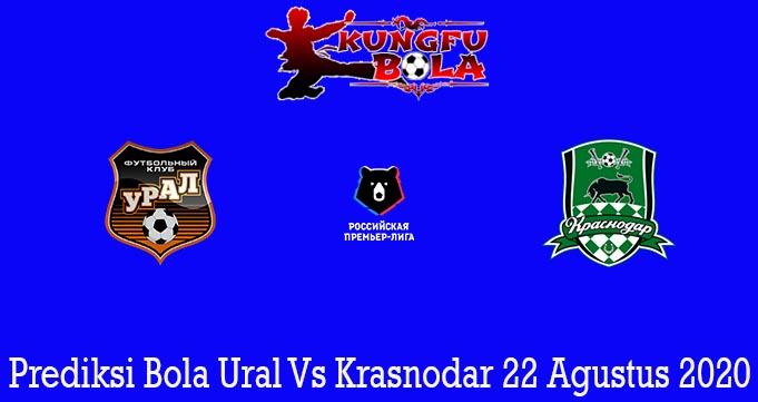 Prediksi Bola Ural Vs Krasnodar 22 Agustus 2020