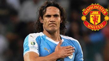 Edinson Cavani Tinggal Selangkah Ke Man United