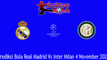 Prediksi Bola Real Madrid Vs Inter Milan 4 November 2020
