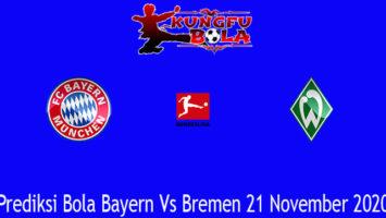 Prediksi Bola Bayern Vs Bremen 21 November 2020