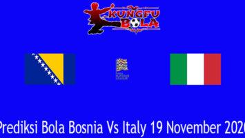 Prediksi Bola Bosnia Vs Italy 19 November 2020