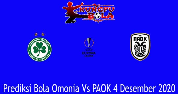Prediksi Bola Omonia Vs PAOK 4 Desember 2020