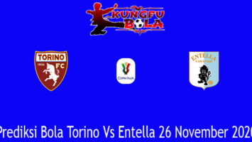 Prediksi Bola Torino Vs Entella 26 November 2020