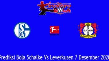 Prediksi Bola Schalke Vs Leverkusen 7 Desember 2020