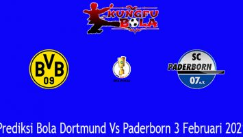 Prediksi Bola Dortmund Vs Paderborn 3 Februari 2021