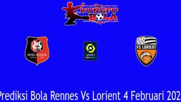 Prediksi Bola Rennes Vs Lorient 4 Februari 2021