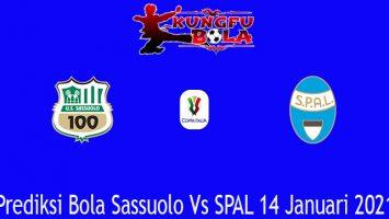 Prediksi Bola Sassuolo Vs SPAL 14 Januari 2021