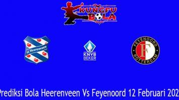 Prediksi Bola Heerenveen Vs Feyenoord 12 Februari 2021