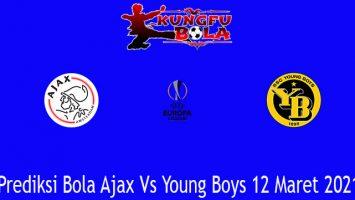 Prediksi Bola Ajax Vs Young Boys 12 Maret 2021