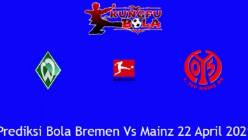 Prediksi Bola Bremen Vs Mainz 22 April 2021
