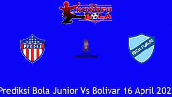 Prediksi Bola Junior Vs Bolivar 16 April 2021