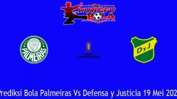 Prediksi Bola Palmeiras Vs Defensa y Justicia 19 Mei 2021