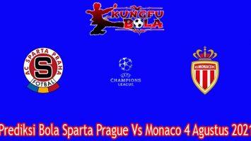 Prediksi Bola Sparta Prague Vs Monaco 4 Agustus 2021