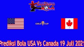 Prediksi Bola USA Vs Canada 19 Juli 2021