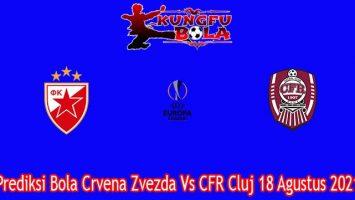 Prediksi Bola Crvena Zvezda Vs CFR Cluj 18 Agustus 2021