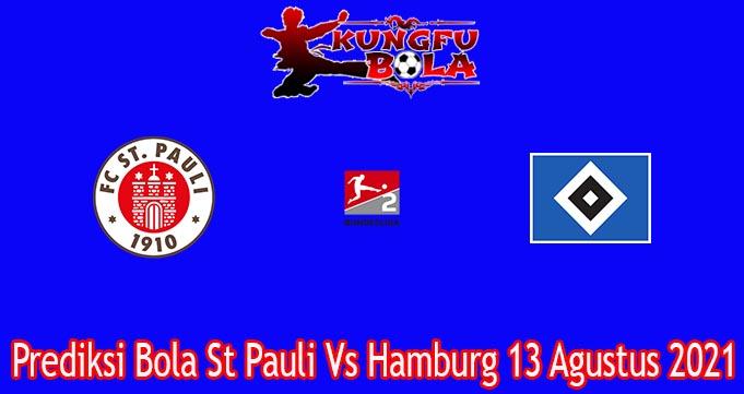Prediksi Bola St Pauli Vs Hamburg 13 Agustus 2021