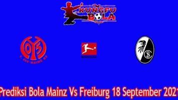 Prediksi Bola Mainz Vs Freiburg 18 September 2021