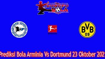 Prediksi Bola Arminia Vs Dortmund 23 Oktober 2021